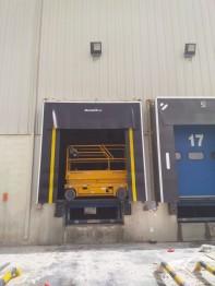 Pete DoorHan Retractable Dock Shelter Installation at Delmonte (Feb2018)